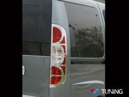 Хром накладки на стопы FIAT Doblo I (2006-2009)