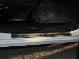 Хром накладки на пороги NISSAN Qashqai I J10 (07-13) - OMSA