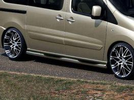 Трубы боковые FIAT Scudo (2007-2015) пороги