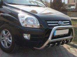 Кенгурятник передний KIA Sportage II (2004-2009)