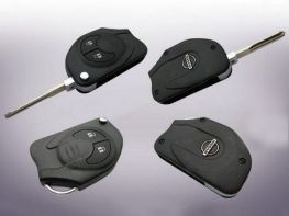 Выкидной ключ - Flip Key NISSAN Note II E12 (2012-)