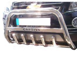 Защита передняя (кенгурятник) CHEVROLET Captiva (2006-)