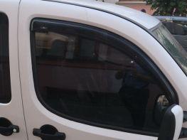 Ветровики FIAT Doblo I (00-09) - Hic (накладные)
