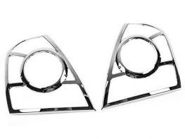 Хром на задние фонари Hyundai Elantra III (XD; 03-06)
