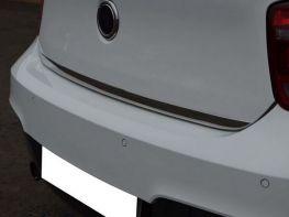 Хром накладка на кромку багажника BMW 1 F20 (11-19)