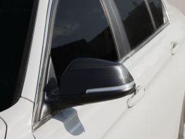 Накладки на зеркала BMW 1 F20 / F21 (11-19) - карбон