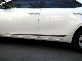 Хром молдинги дверные TOYOTA Corolla XI (13-18)