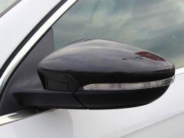 Карбоновые накладки на зеркала VW Scirocco III (08-17)