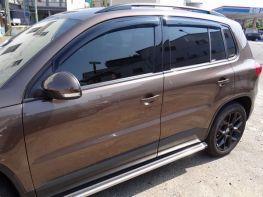 Дефлекторы окон VW Tiguan I (07-15) - Hic (накладные)