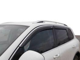 Ветровики VW Tiguan I (07-15) - Niken (с хром молдингом)