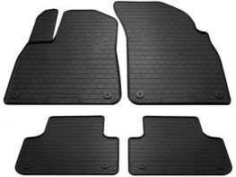 Чёрные коврики салона AUDI Q7 II (16-/20-) - Stingray