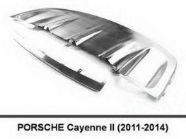Накладки под бампера PORSCHE Cayenne II (11-14)