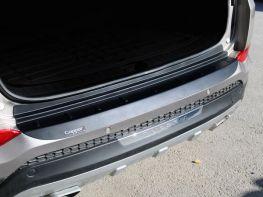 Накладка на задний бампер HYUNDAI Tucson III TL (16-18) - ABS-пластик