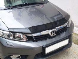 Дефлектор капота HONDA Civic 9 (12-15) Sedan - CappaFe