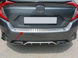 Накладка на задний бампер HONDA Civic 10 (16-21) Sedan