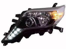 Фары TOYOTA LC J150 Prado IV (14-17) - LED DRL диодные
