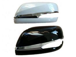 Крышки зеркал LEXUS LX 570 (16-) - с хром полосками