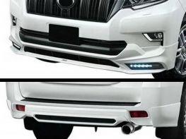 Накладки передняя и задняя TOYOTA LC J150 Prado IV (18-) - TRD LED DRL