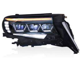 Фары TOYOTA LC J150 Prado IV (18-19) - 3 LED DRL (3 диода)