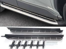 Пороги боковые TOYOTA Rav4 V (19-) - алюминиевые