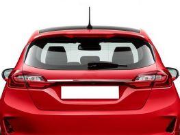 Хром накладка над номером FORD Fiesta Mk8 (17-) 5D HB