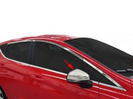 Хром накладки на зеркала FORD Fiesta Mk8 (17-)