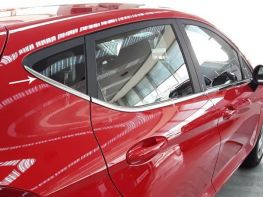 Хром нижние молдинги стёкол FORD Fiesta Mk8 (17-) 5D HB