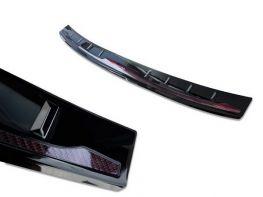 Накладка на задний бампер BMW X5 M G05 (19-) - Avisa (карбон)