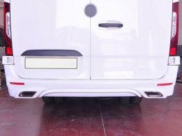 Накладка задняя MERCEDES Sprinter W907 (19-)