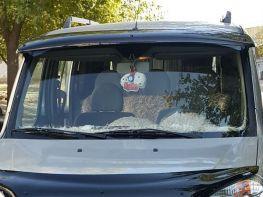 Козырёк лобового стекла FIAT Doblo I (00-09)