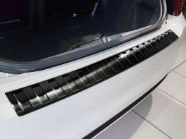 Накладка на задний бампер FIAT 500 (15-17) Hb - чёрная