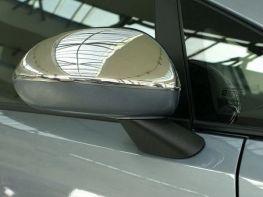 Хром накладки на зеркала OPEL Corsa E (14-19)
