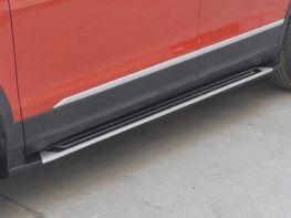 Пороги боковые VW Tiguan Allspace (17-) - OEM