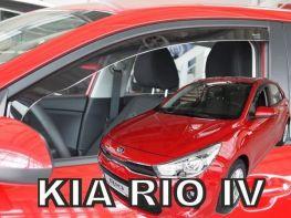 Ветровики KIA Rio IV (17-) 5D HB - Heko (вставные)