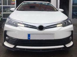 Сплиттер передний TOYOTA Corolla XI (15-18)