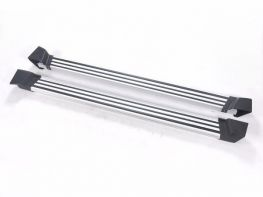 Пороги боковые JEEP Wrangler JK (07-17) 4D - OEM серые