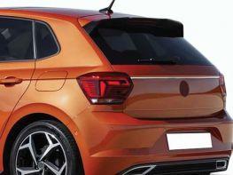 Хром накладка над номером VW Polo VI (17-) HB