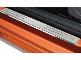 Накладки на пороги VW Polo VI (17-) HB - Omsa