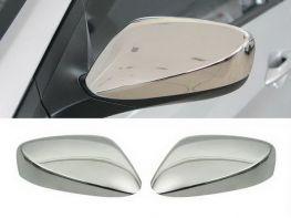 Хром накладки на зеркала Hyundai Elantra V (MD; 10-16) - без поворотов