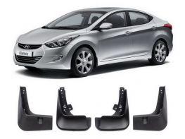 Брызговики Hyundai Elantra V (MD; 10-16) - OEM