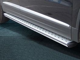 Пороги боковые VW Tiguan I (07-15) - оригинал модель