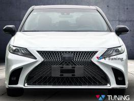 Бампер передний TOYOTA Camry XV70 (18-) - Lexus LS стиль