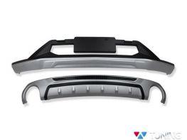 Накладки передняя и задняя MAZDA CX-5 II (2017-) - ABS