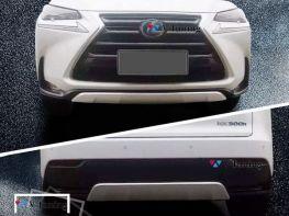 Накладки передняя и задняя LEXUS NX (2014-)