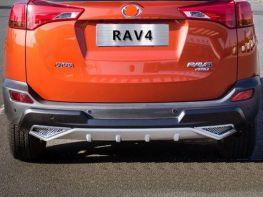 Накладка задняя TOYOTA Rav4 IV (2013-2015)