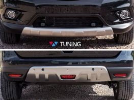 Накладки под бампера NISSAN X-Trail T32 (2014-)