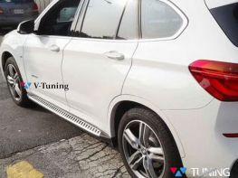 Пороги боковые BMW X2 F39 (18-) - OEM