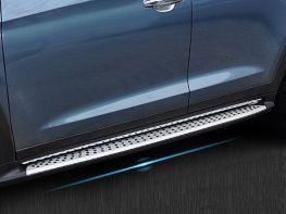 Пороги боковые HYUNDAI Tucson III TL (16-) - BMW стиль
