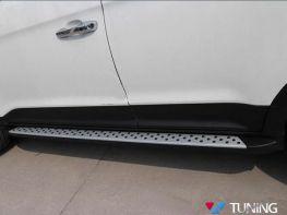 Пороги боковые HYUNDAI Creta (14-17) - BMW стиль