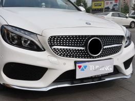Решётка MERCEDES C W205 (14-/18-) - Diamond стиль